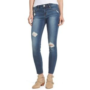 Articles Society 26 Sarah Cut Off Hem Skinny Jeans